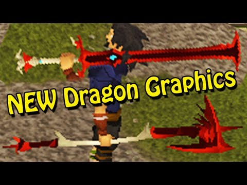 New Runescape Weapon Graphics – Before and After + Combat Animations!