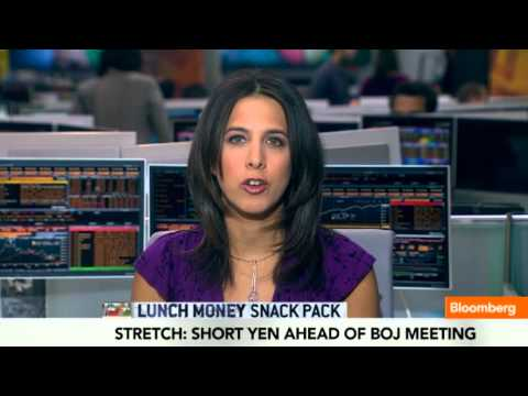 Snack Pack: Gold Options, Yen, Yield Curve, Stocks