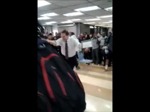 Turn-Up-13-Style Whitney Young high school teacher Chicago vs student dance off !!!!!!!FUNNY!!!!