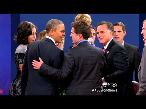 Tagg Romney Apologizes to Barack Obama at Final Debate for Saying He'd 'Swing' at President