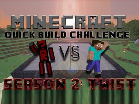 Minecraft Quick Build Challenge – Topic Hint: Force! (Twist, Season 2)