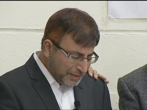 Harlow fire: Dr Abdul Shakoor makes emotional speech at family's funeral