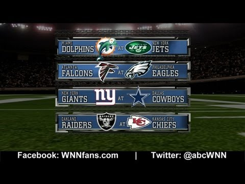 WEEK 8: NFL Picks Competition 2012