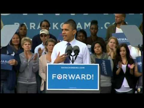 Presidential election: Obama hits out at Romney over trust issues during a speech in Iowa