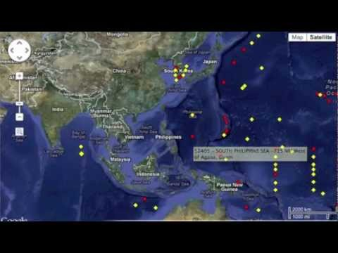 3MIN News October 20, 2012: Contact the Australian Bureau of Meteorology re:Buoy 53046