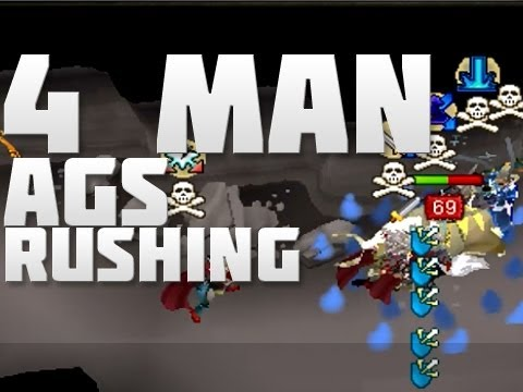 Runescape – OVERPOWERED 4 Man AGS Rushing Revs ft. Framed & PimpStickFran