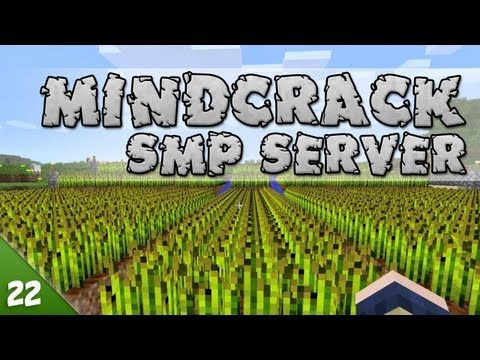 Minecraft MindCrack – SMP #022 – Automated Gluten Delivery