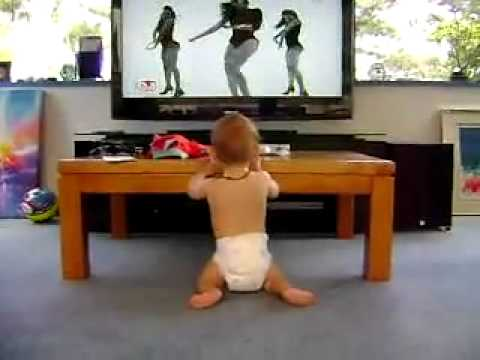 Funny Babies – baby dance on beonce clip