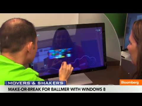 Make-Or-Break for Ballmer With Windows 8