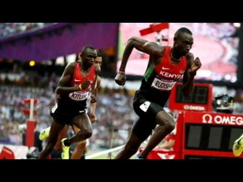 2012 Olympics: Kenya's David Rudisha talks about breaking the 800m world record