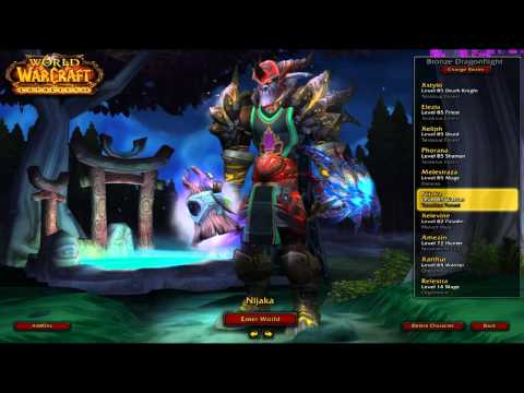 Niels074′ – My World Of Warcraft Character Panel!