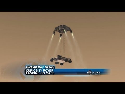 NASA Mars Rover Landing: Curiosity Believed to Have Landed Successfully