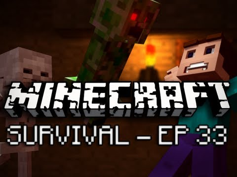 Minecraft: Survival Let's Play Ep. 33 – The Return of Mine Sheep!