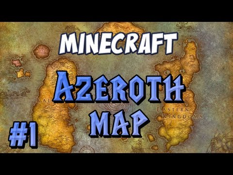 World of Warcraft Map Part 1 – The Lions Pride