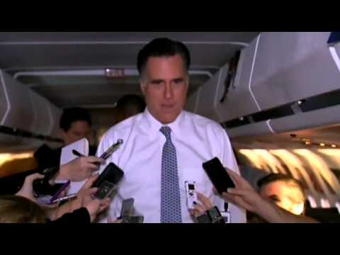 US Election 2012: Mitt Romney: 'I've only written one speech'