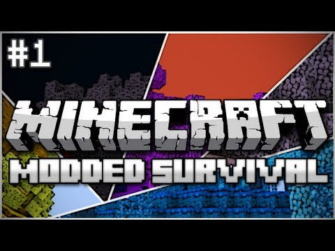 Minecraft: Modded Survival Let's Play Ep. 1 – Teleporters, Castles, and Cyclops