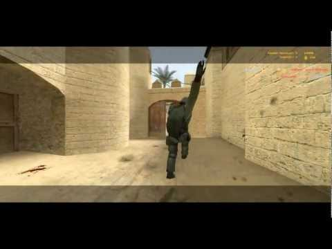 Sniping/Pistol match(CounterStrike Source)