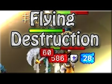 """Runescape So Wreck3d Pk Commentary 68 """"Flying Destruction"""" 
