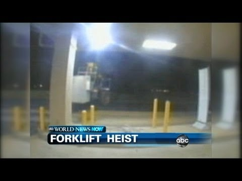 WEBCAST: Forklift Robbery