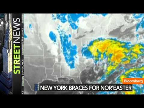 New York Area Braces for Post-Sandy Nor'-easter