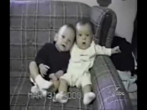 Very Funny Video(hilarious ) Between two babies