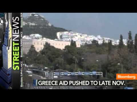 Greece Funds May Be on Hold Until Late November