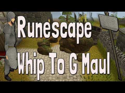 Pk K1n9 5 Runescape Rune Pure Abbysal Whip To Granite Maul Pking With Commentary