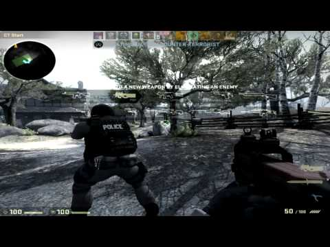 Two Douchebags Play Counter Strike Global Offensive