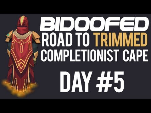 RuneScape Road to Trimmed Completionist Cape Day #5