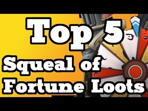 RuneScape Underground – Top 5 Squeal of Fortune Rewards