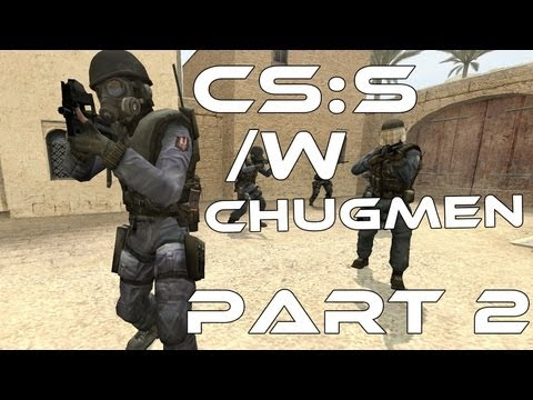Let's Play! Counterstrike Source, part 2 with Chugmen