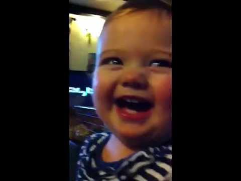 Baby cant stop laughing! 'Twinlets' (3 of 8)