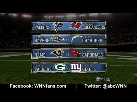 WEEK 12: NFL Picks Competition 2012