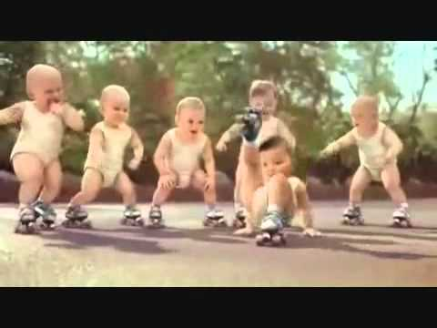 Roller-Babies-Crazy – Very Funny :)