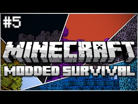 Minecraft: Modded Survival Let's Play Ep. 5 – Successful Ore Not