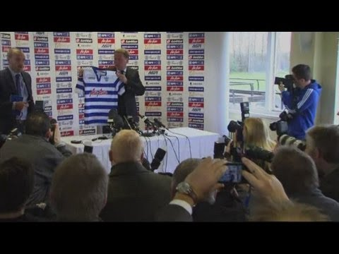 Harry Redknapp at QPR press conference: 'David Beckham has texted me'