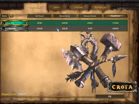 Lucifer (UD) vs Infi (HU) – G1 – WarCraft 3 – WC352