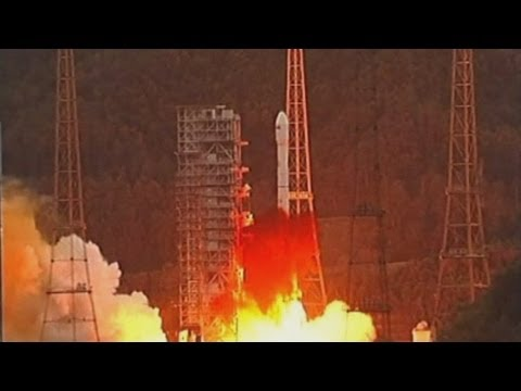 China launches French-made communications satellite into space