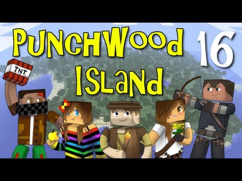 "Punchwood Island E16 ""Deal or No Deal"" (Minecraft Family Survival)"