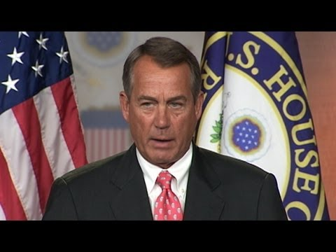 John Boehner on Fiscal Cliff: 'White House Has to Get Serious'
