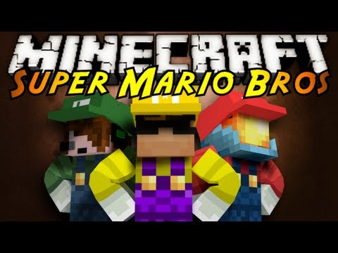 Minecraft: Super Mario Brothers Part 1!