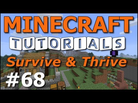 Minecraft Tutorials – E68 Invisibility and Night Vision Potions (Survive and Thrive Season 4)