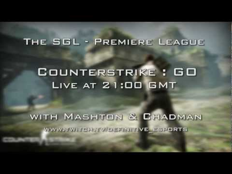 The SGL – Counterstrike : Global Offensive Live at 9pm – with Mashton & Chadman