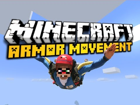 Minecraft Armor Movement Mod – GLIDERS, JET PACKS, & MORE! (HD)