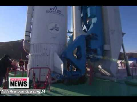Naro Rocket on Launch Pad, Ready for Thursday Launch [Arirang NEWS]