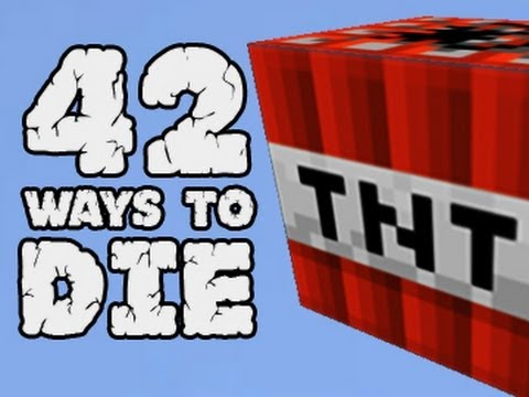 42 Ways to Die in Minecraft