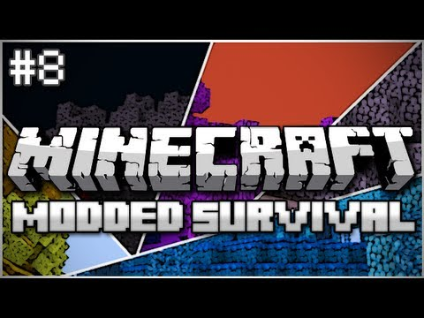 Minecraft: Modded Survival Let's Play Ep. 8 – Up In Flames