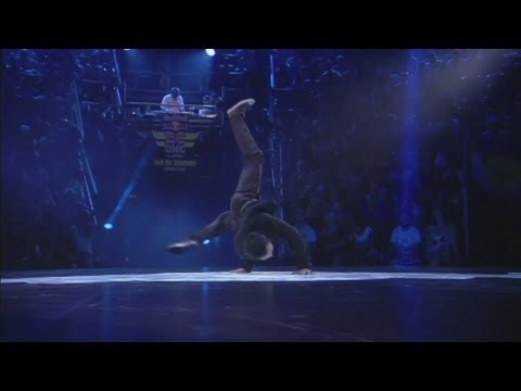 Amazing breakdance footage: World's best B-boys do battle at the Red Bull World finals in Brazil