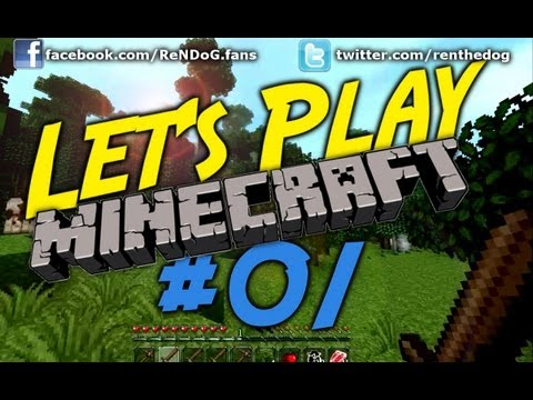[Part 1] Let's Play Minecraft – Unlucky cows, Rainforests and Mole Holes!