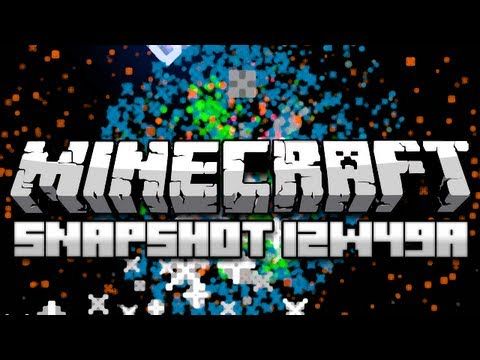 Minecraft: Fireworks and Enchanted Books (Snapshot 12w49a)